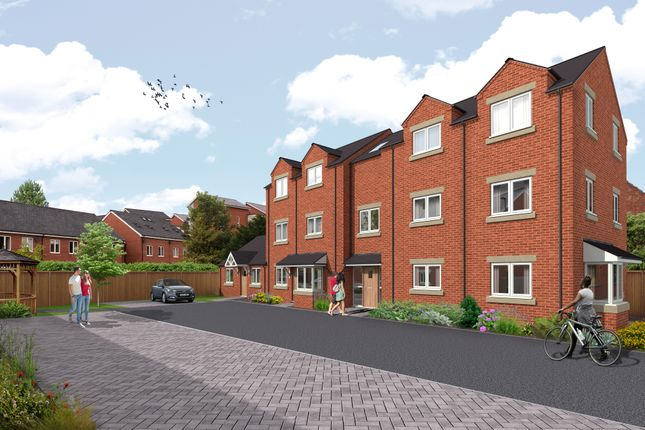 Thumbnail 1 bed flat for sale in Plot 6, Baldwin Court, Worcester