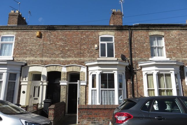 Thumbnail Terraced house to rent in Vyner Street, York