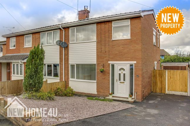 Thumbnail Semi-detached house for sale in Nant Derw, Mold
