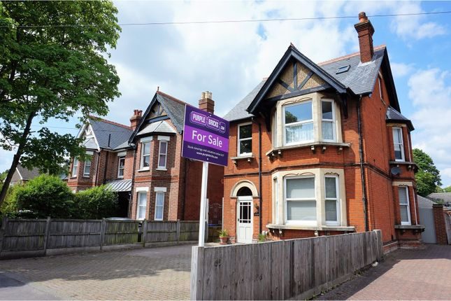 Thumbnail Detached house for sale in Reading Road, Farnborough