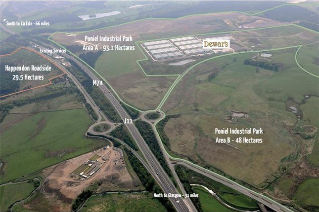 Thumbnail Land for sale in M74, Lanark, South Lanarkshire, UK