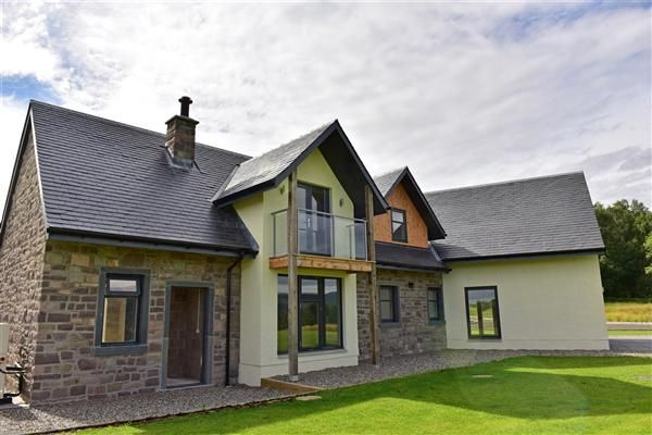 Thumbnail Detached house for sale in Pitilie View, Aberfeldy, Perthshire