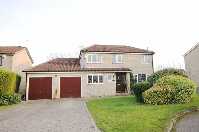 Thumbnail Detached house for sale in Cutthorpe Grange, Cutthorpe, Chesterfield