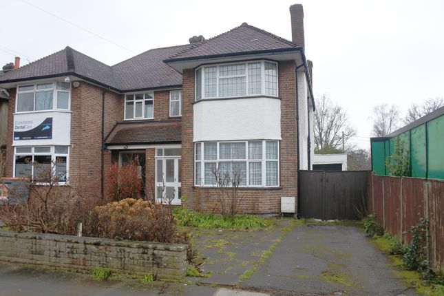 Thumbnail Semi-detached house to rent in Westpole Avenue, Cockfosters, Herts