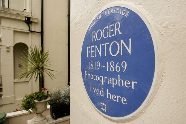 Feature of Albert Terrace, Primrose Hill, London NW1