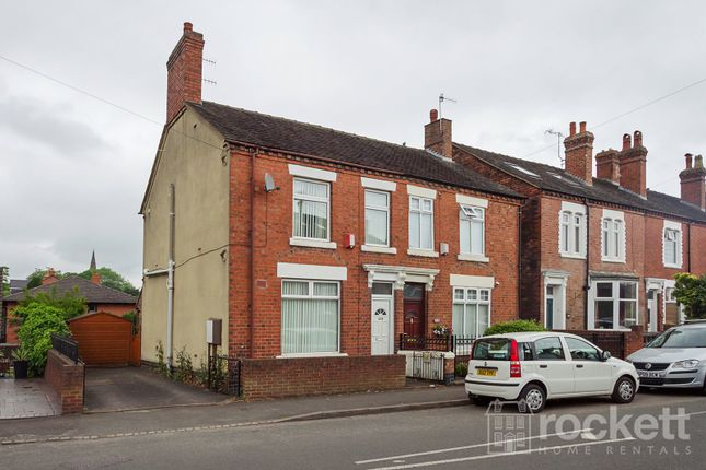 Thumbnail Semi-detached house to rent in High Street, Silverdale, Newcastle-Under-Lyme