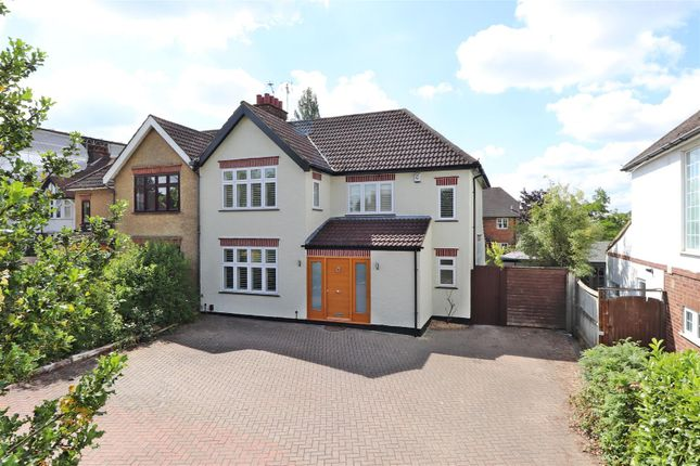 Thumbnail Semi-detached house for sale in Hatfield Road, St.Albans
