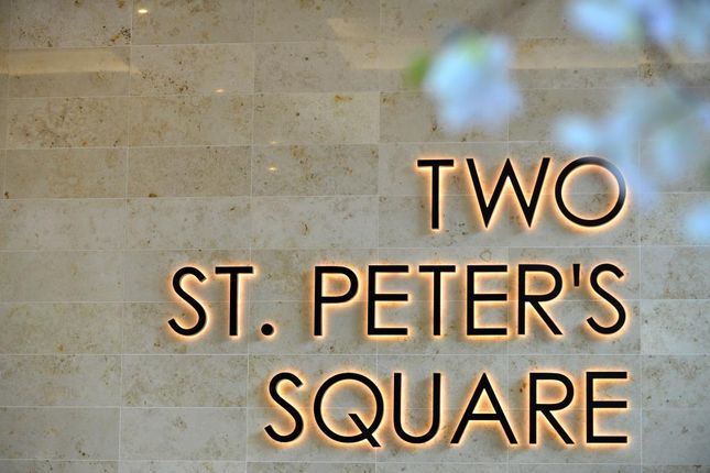 Office to let in 2 St Peter's Square 2 St Peter's Square, Manchester