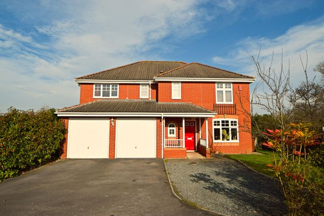 Thumbnail Detached house for sale in Windsor Close, Culllompton