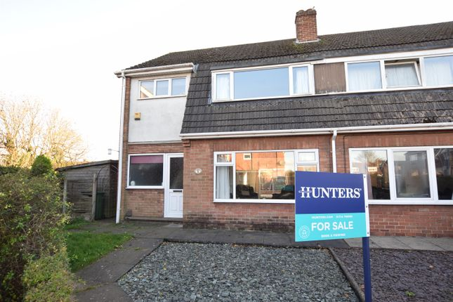 Thumbnail Semi-detached house for sale in Inglewood Court, Scunthorpe