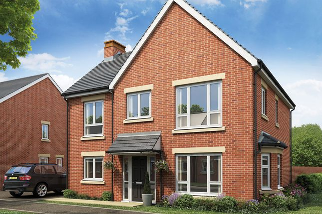 Thumbnail Detached house for sale in Plot 81, The Dunstan, Burton Road, Manorfields, Castle Gresley