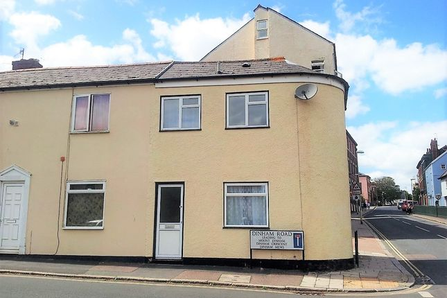 Thumbnail Semi-detached house to rent in St. Davids Hill, Exeter
