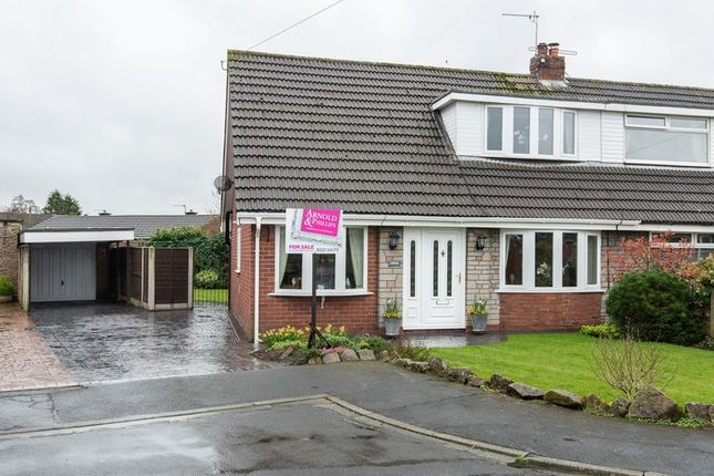 Thumbnail Semi-detached house for sale in Longfield Avenue, Coppull, Chorley