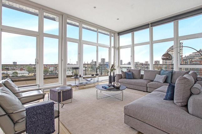 Thumbnail Flat for sale in Dolphin House, Smugglers Way, Wandsworth, London