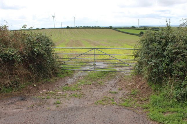 Thumbnail Land for sale in Halsinger, Braunton