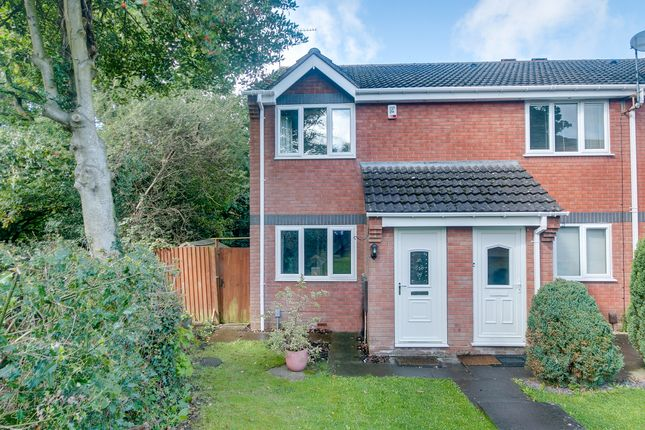 Thumbnail End terrace house for sale in Goldthorne Close, Headless Cross, Redditch