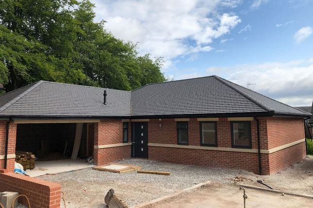 Thumbnail Detached bungalow for sale in Lymewood Grove, Newcastle-Under-Lyme
