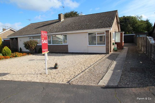 Thumbnail Semi-detached house to rent in Christine Avenue, Lingwood, Norwich