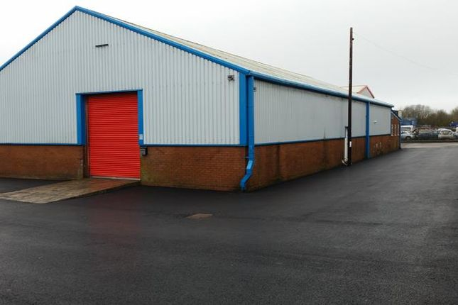 Thumbnail Light industrial to let in Unit 5, Pant Industrial Estate, Merthyr Tydfil