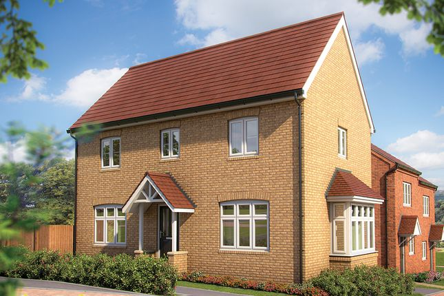 "Thumbnail Semi-detached house for sale in ""The Spruce"" at Irthlingborough Road, Wellingborough"