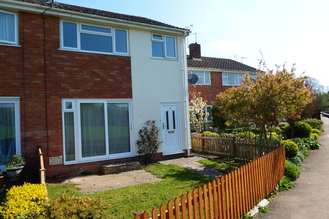 Thumbnail End terrace house to rent in Roughmoor Crescent, Taunton