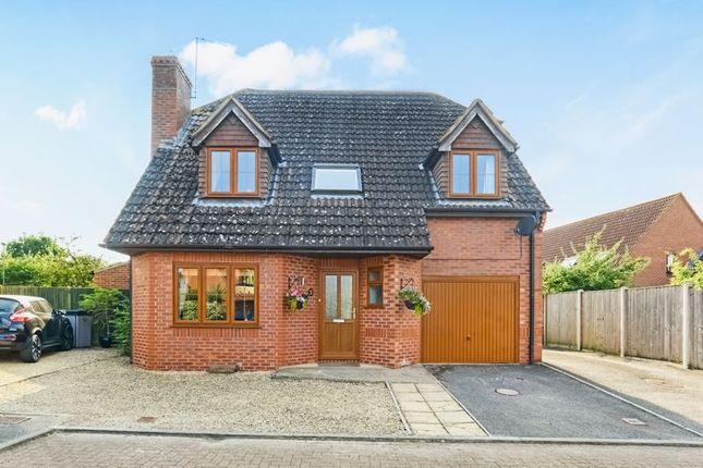 Thumbnail Detached house for sale in Poppyfields, Gillingham