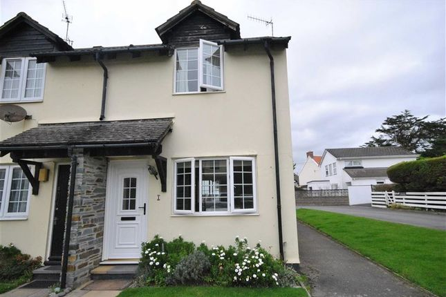 Thumbnail End terrace house to rent in Lane End Road, Instow, Devon