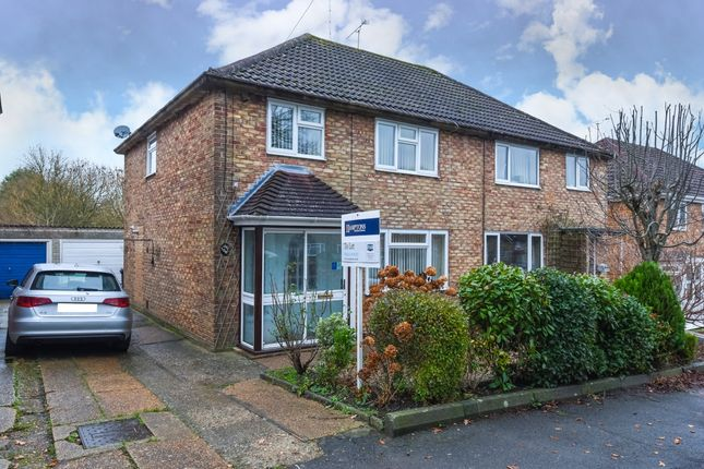Thumbnail Semi-detached house to rent in Chanctonbury Road, Burgess Hill