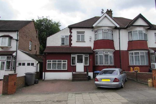 Thumbnail Semi-detached house for sale in Braemar Avenue, Wembley