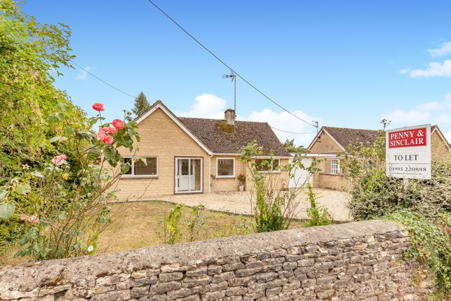 Thumbnail Detached bungalow to rent in Shipton Road, Milton-Under-Wychwood, Chipping Norton