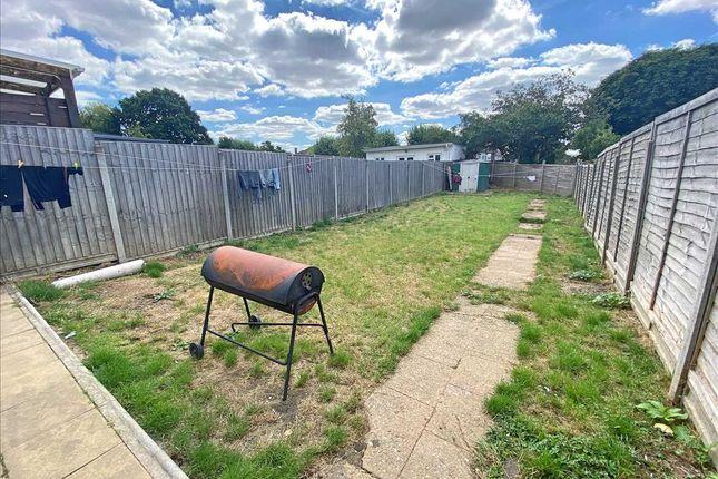 Garden of Lawrence Crescent, Edgware HA8