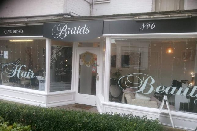 Thumbnail Retail premises for sale in Shropshire Street, Audlem, Crewe