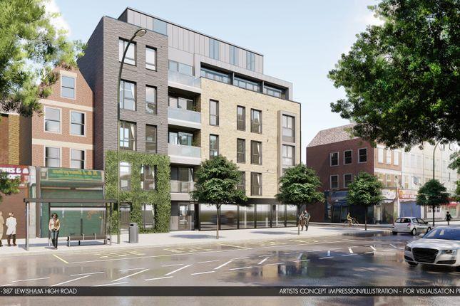 Thumbnail Block of flats for sale in Lewisham High Street, London
