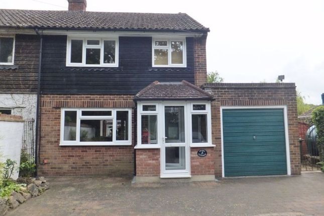 Thumbnail Semi-detached house to rent in Coopers Corner, Ide Hill, Sevenoaks