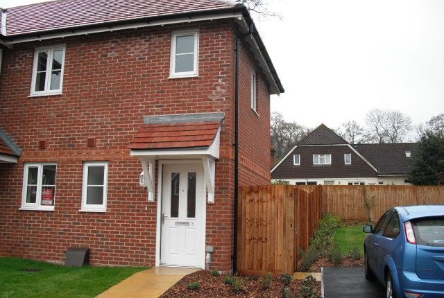 Thumbnail Semi-detached house to rent in Handyside Place, Four Marks, Alton