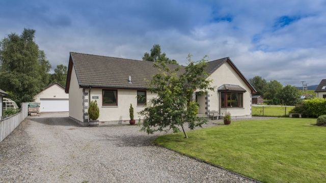 Thumbnail Bungalow for sale in Roy Bridge, Fort William, Inverness-Shire