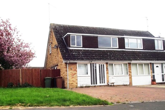 Thumbnail Semi-detached house to rent in Ainsdale Drive, Werrington