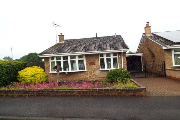 Thumbnail Bungalow to rent in St. Peters Drive, Mansfield