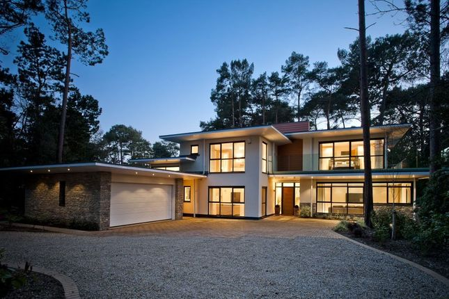 Thumbnail Detached house for sale in Mornish Road, Branksome Park, Poole