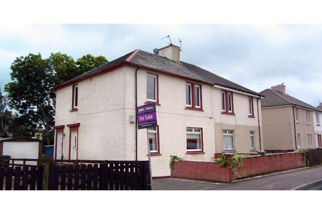 Thumbnail Flat for sale in Orchard Street, Wishaw