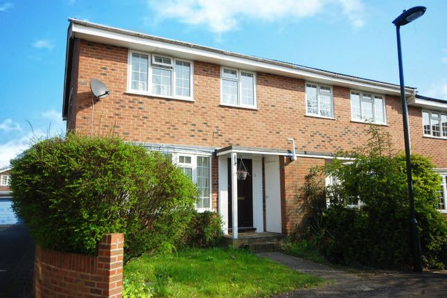 Thumbnail End terrace house for sale in Birchwood Grove, Hampton