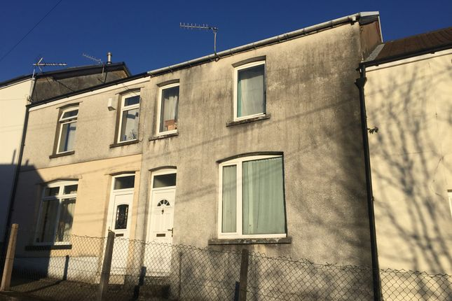 Thumbnail Terraced house for sale in Heath Crescent, Graigwen, Pontypridd