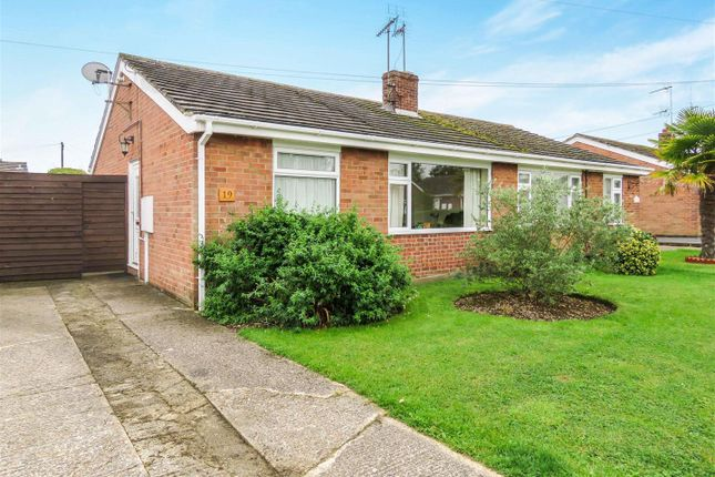 Thumbnail Semi-detached bungalow for sale in Whitehouse Road, Sawtry, Huntingdon