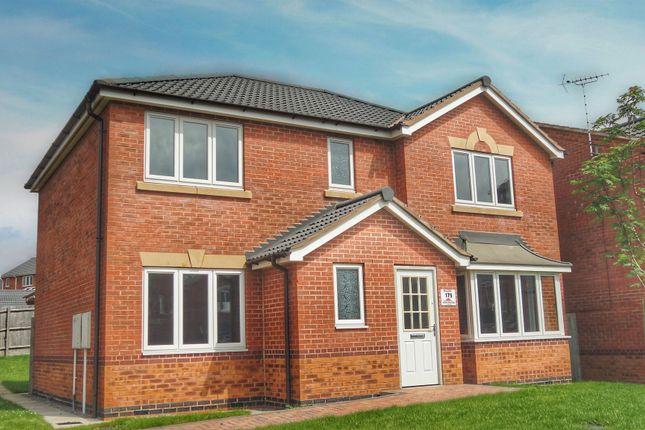 Thumbnail Detached house for sale in Merchant Drive, Leabrooks, Alfreton