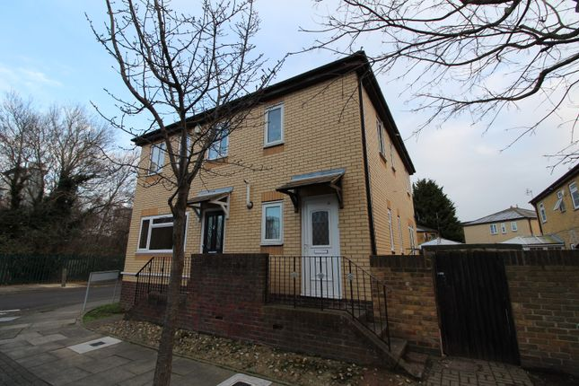 Thumbnail End terrace house to rent in Camelot Close, Thamesmead