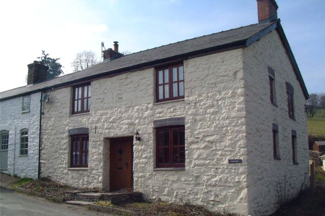 Thumbnail Semi-detached house for sale in Llanerfyl, Welshpool, Powys