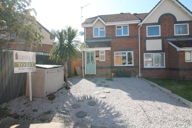 Semi-detached house to rent in Nidderdale, Carlton Colville, Lowestoft, Suffolk