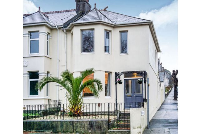Thumbnail End terrace house for sale in Peverell Park Road, Plymouth