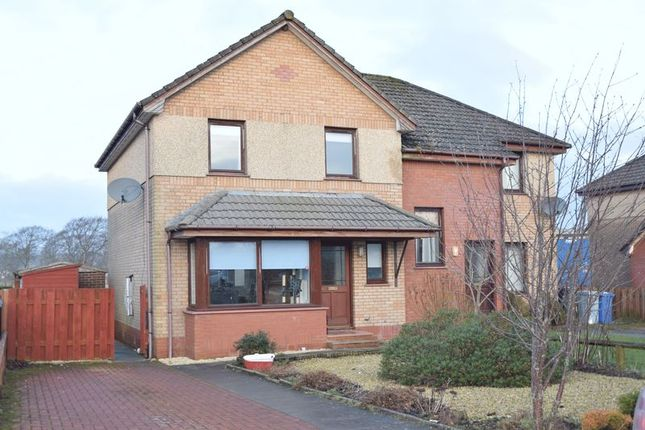 Thumbnail Semi-detached bungalow to rent in School Road, Symington, Biggar