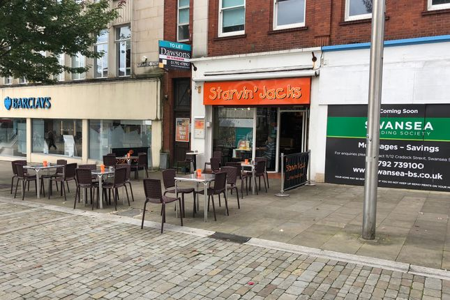 Thumbnail Restaurant/cafe to let in Portland Street, Swansea